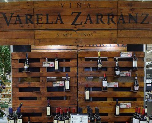 Varela Zarranz presente en el 17° Salón del Vino del Géant
