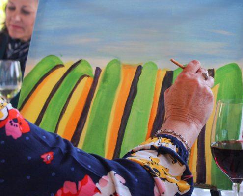 Arte, primavera y vinos - Viña Varela Zarranz